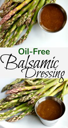 Plant-Based Balsamic Dressing with no oil - Wholly Plants Plant Based Whole Foods, Plant Based Eating, Plant Based Diet, Plant Based Recipes, Plant Diet, Oil Free Salad Dressing, Salad With Balsamic Dressing, Salad Dressing Recipes, Zero Calorie Dressing Recipe