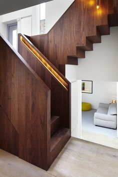 Stairwell lighting - Fraher Projects | The Lantern