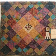 2011 Gems Quilt Show honorable mention