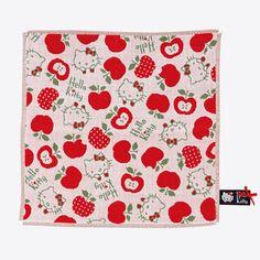 Hello Kitty petit towel (apple)