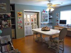 My dream scrapbook room