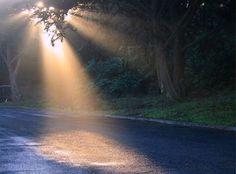 Wow, heavenly light?