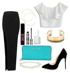 """"""""""" by madrilene on Polyvore featuring mode, Chicwish, Michael Kors, Tiffany & Co., NYX, Givenchy, Essie et Robert Rose"""