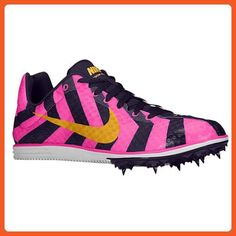 d4bd742b1d84c Nike Zoom Rival D 8 Unisex Pink Foil Laser Orange Purple Dynasty Track and  Field Shoes Women s