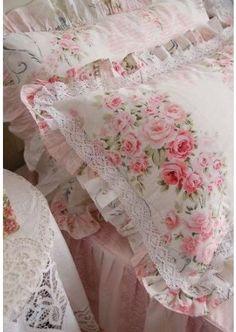 Rose pillows
