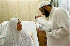 Husband wife and new baby muslims Muslim Family, Muslim Couples, Maternity Photography, Family Photography, Islam Marriage, Beard Lover, Army Love, Beard Care, Hair And Beard Styles