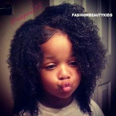 Beautiful Black Babies ❤ liked on Polyvore featuring kids and hair