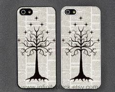 TREE OF GONDOR phone case iPhone 5 case iPhone 4 by InfinityBlack, $9.99