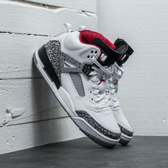 best website efc08 63a63 315371-122 Nike Jordan Spizike White Varsity Red   KicksCrew   Shop and Buy  it Now!!