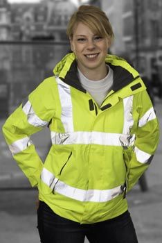 Hi-Vis Workwear for women http://www.pksafetyuk.com/news/high-visibility-workwear/hi-vis-clothing-solutions-for-recycling