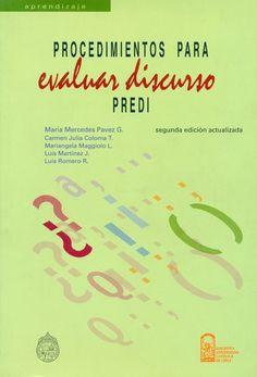 """Test """"PREDI"""" (Procedimientos para Evaluar el Discurso)"""