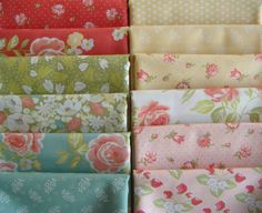 Strawberry  Fields Revisited  Fat Quarter Fabric by timelessquilts