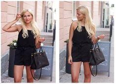 Prada Saffiano Tote nero black, prada bag, summer outfit,