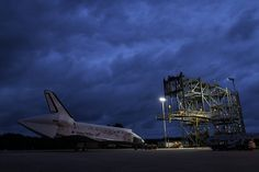Discovery Ready For Mate-Demate Device (KSC-2012-2086) by nasa hq photo, via Flickr