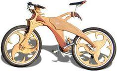 Wooden Mountain Bike built by Warren Von Botbyl | Bicycle Forest