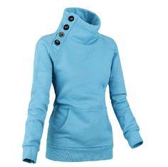 Long Sleeve Hoodie Hoodies from fashionmia.com