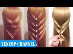 5 Peinados Faciles Y Rapidos Y Bonitos Con Trenzas (P12) | Peinado 2015 - 2016 ♥ Yencop - YouTube