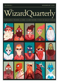 Wizard Quarterly   Witches & Wizards   http://nicolasrix.com   #witches #wizards #magazine #editorial