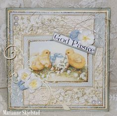 God Påske, the Easter Greetings paper collection