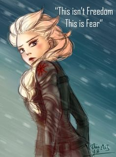 Winter Soldier!Elsa