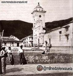 Plaza Bolívar de Caracas. Año 1866.