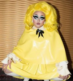 'Sup bro Latex look by Hair by Shadows (the new Kim Chi shadow!) by Photo by by kimchi_chic Drag Queen Makeup, Drag Makeup, Porcelain Doll Makeup, Legally Blonde, Rupaul Drag, Fantasy Makeup, Kimchi, My Girl, Drag Queens