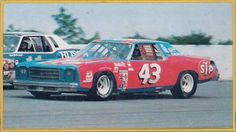 Richard Petty in the STP Monte Carlo, Stock Car Racing Magazine 1979