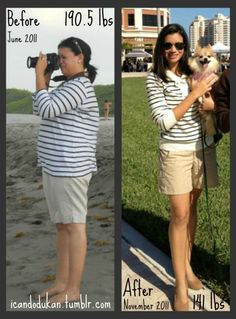 190 to 141. BMI 30.5 to 22.7