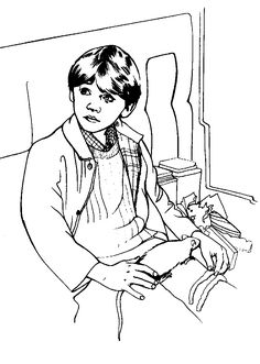 coloring page Harry Potter and the Philosophers Stone on Kids-n-Fun. Coloring pages of Harry Potter and the Philosophers Stone on Kids-n-Fun. More than coloring pages. At Kids-n-Fun you will always find the nicest coloring pages first! Harry Potter Fan Art, Harry Potter Portraits, Harry Potter Colors, Harry Potter Quilt, Harry Potter Ron Weasley, Harry Potter Drawings, James Potter, Ron Weasley Birthday, Colouring Pages