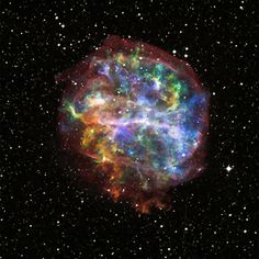 "The aftermath of the death of a massive star is shown in beautiful detail in this composite image of G292.0+1.8. In color is the Chandra X-ray Observatory image - easily the deepest X-ray image ever obtained of this supernova remnant - and in white is optical data from the Digitized Sky Survey. Although considered a ""textbook"" case of a supernova remnant, the intricate structure shown here reveals a few surprises."