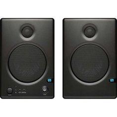 "PreSonus Ceres C4.5BT Two-Way 4.5"" Powered Studio Monitor Speaker with Bluetooth, 70Hz-20kHz, 1"" Silk Dome Tweeter, Pair"
