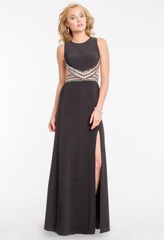 Beaded Side Cutout D