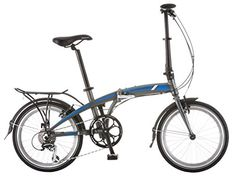 "Schwinn Adapt 2 8 Speed Folding Bike Matte Charcoal 20"" Wheel, one size frame -- To view further for this item, visit the image link."