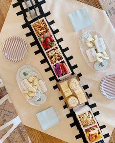 2nd Birthday Party For Boys, Trains Birthday Party, Train Party, Happy 2nd Birthday, Birthday Ideas, Cardboard Train, Farm Cookies, Sweet Magic, Custom Cookies