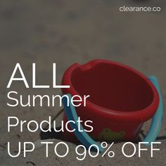 Don't Miss Out! Our Hot Summmer Sales Event Starts at 5pm PT! July 22nd at Clearance.co!  Save up to 90% Off on all Summer Products - FREE Shipping included!  #summer #summerproducts #sale #blowout #clearance Free Shipping, Hot, Summer, Products, Summer Time, Summer Recipes, Beauty Products