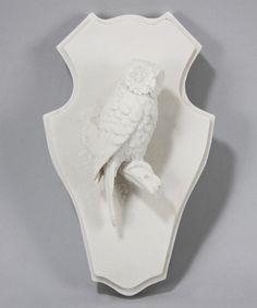 Ivory Owl Décor