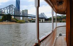 Cruise on our timber paddle wheelers for lunch or dinner www.kookaburrariverqueens.com Paddle, Brisbane, Cruise, Lunch, Dinner, Dining, Cruises, Eat Lunch, Food Dinners