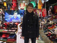 【大阪店】2014.12.24 バスケットプレイヤーのお客様になります。中学生で180cmとは、、、憧れます☆(笑)将来の活躍が楽しみですね!!練習頑張ってくださいね☆またのご来店お待ちしております。