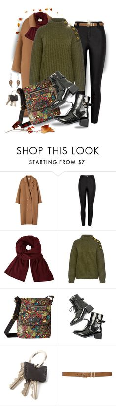 """Cozy Autumnal Day"" by runners ❤ liked on Polyvore featuring River Island, John Lewis, Boutique Moschino, Sakroots, M&Co and Bling Jewelry"