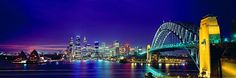 SYDNEY SKYSCAPE SYDNEY, NEW SOUTH WALES LIMITED EDITION - 450 ARTIST PROOF - 45 WG121