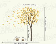 Baby Nursery Wall Decals  Tree Wall Decal  Tree by WallConsilia, $84.00