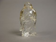 清 水晶佛像 Buddha  Period:Qing dynasty (1644–1911) Date:20th century Culture:China Medium:Rock crystal Dimensions:H. 3 5/8 in. (9.2 cm) Classification:Sculpture