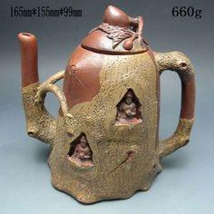 Chinese Zisha / Purple Clay Teapot w Mark NR/PC2052