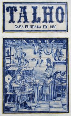 Azulejo - portuguese tiles