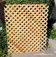 how to make an easy patio privacy screen - Patio Privacy Screen