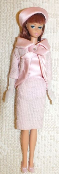 Vintage Repro Barbie Fashion Luncheon Fashion ~No Box~Has Been Displayed