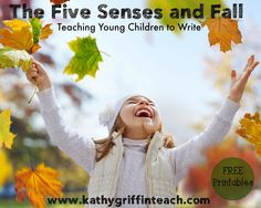 5 Senses Fall Writing Activity