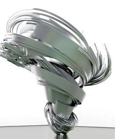 """annajungdesign: Super Twister II, 2013, de Alice Aycock, para Galerie Thomas Schulte """