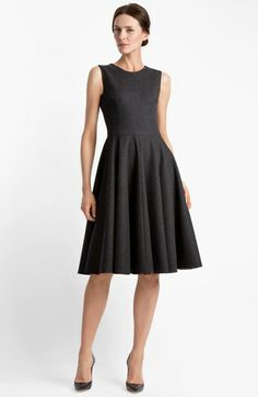 Dolce Stretch Flannel Dress available at #Nordstrom