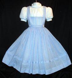 Designer Clothes, Shoes & Bags for Women Kawaii Fashion, Lolita Fashion, Cute Fashion, Dress Outfits, Fashion Dresses, Cute Outfits, Disney Outfits, Dorothy Gale Costume, Kawaii Dress